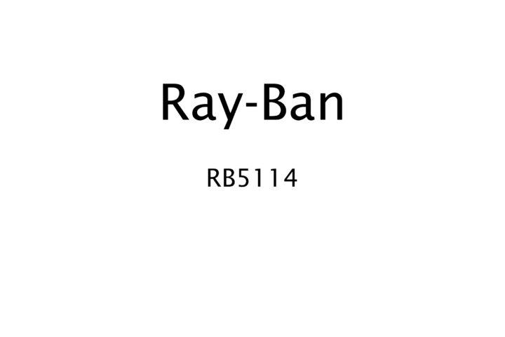 Ray-Ban | RB5114